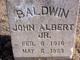 Profile photo:  John Albert Baldwin Jr.