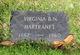 Virginia B. <I>Nash</I> Hartranft