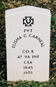 Pvt Elisha Gideon Carneal