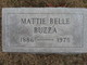 Profile photo:  Mattie Belle Buzza