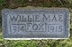Willie Mae Fox