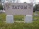 Willie Sion <I>Franklin</I> Tatum