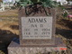 Iva D <I>Bradshaw</I> Adams