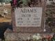 "Jacob Grant ""Jake"" Adams"