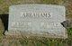 Eliza Marie <I>Sage</I> Abrahams