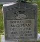 Norman Lee McGowan