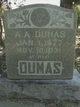 Profile photo:  A A Dumas