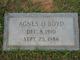 Agnes Leone <I>O'Quin</I> Boyd