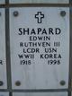 Profile photo:  Edwin Ruthven Shapard, III