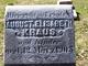 "Elisabeth ""Lizzie"" <I>Reiss</I> Kraus"