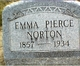 Emma <I>Pierce</I> Norton