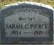 Sarah <I>Guy</I> Pierce