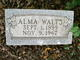 Profile photo:  Alma May <I>Greenwood</I> Walts