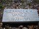 Alexander H Vance