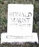 Profile photo:  Ronald Maust