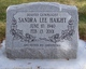 Sandra Lee <I>Kern</I> Haight
