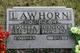 """Martha Rosetta """"Settie"""" <I>Coates</I> Lawhorn"""