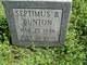 Septimus Booth Bunton