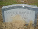 Profile photo:  Annie B. Harville