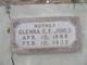 Glenna Elizabeth <I>Frederick</I> Jones