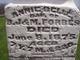 Annie Belle Forbes