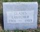 Gladys Crutcher