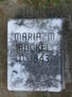 Profile photo:  Maria Magdalena <I>Rothrock</I> Bockel