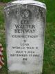 Lee Walter Benway