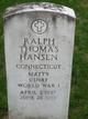 Ralph Thomas Hansen