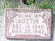 Profile photo:  Alma William Austin