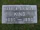 Warren Ahimaaz King