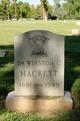 Dr Winston Clifton Hackett
