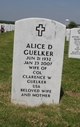 Profile photo:  Alice <I>Donnell</I> Guelker