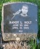 Randy Lee Holt