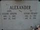 """Eugene Joseph """"Gene"""" Alexander"""