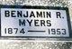 Profile photo:  Benjamin R Myers