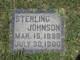 Sterling Johnson