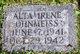 Profile photo:  Alta Irene Ohnmeiss
