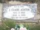 Julia Claire <I>Saxton</I> Ashton