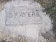 Benjamin Franklin Ayers