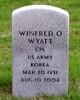 """Winfred Odell """"Buddy"""" Wyatt"""