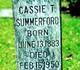 Profile photo:  Cassie <I>Thompson</I> Summerford