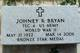 Profile photo:  Johney Raymon Bryan
