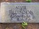 Profile photo:  Alvie Tillotson