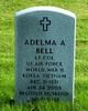Profile photo:  Adelma A Bell