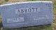 Cora May <I>Barker</I> Abbott