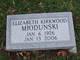 Elizabeth <I>Kirkwood</I> Miodunski