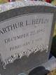 Profile photo:  Arthur L. Heflin