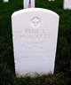 PVT Paul L Brackett