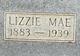 Lizzie Mae Allen